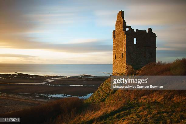 Greenan Castle light