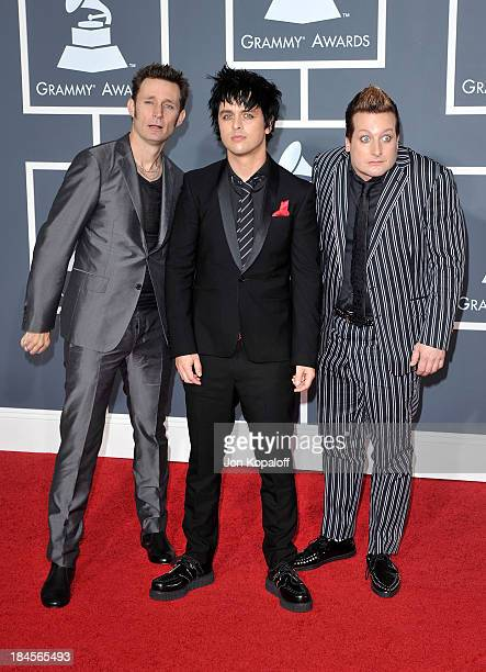 Greenday arrives at the 52nd Annual GRAMMY Awards held at Staples Center on January 31 2010 in Los Angeles California