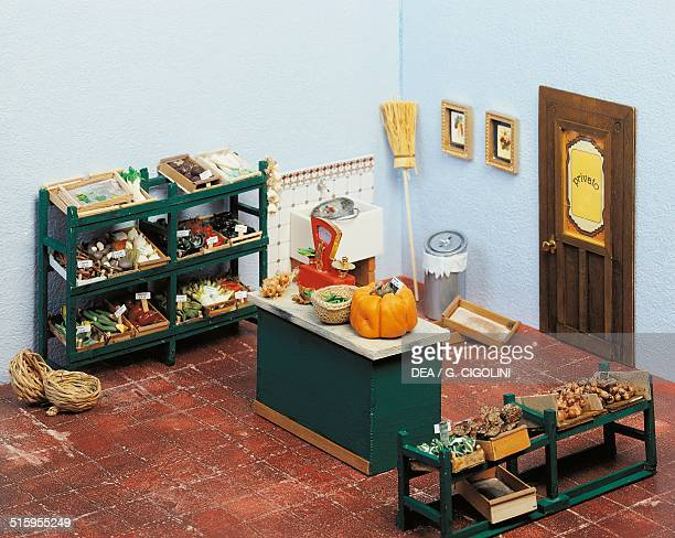 Greengrocer miniature shop 20th century