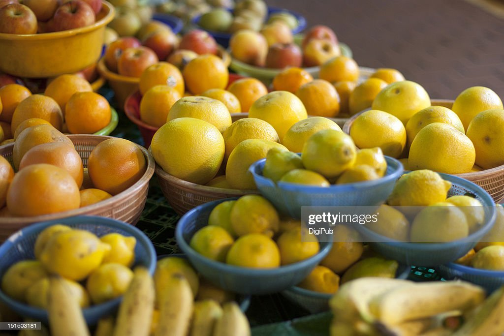 Greengrocer : Stock Photo
