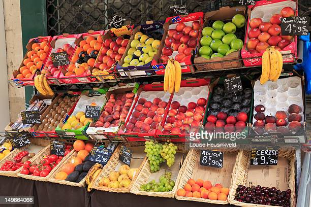 Greengrocers in Paris, France
