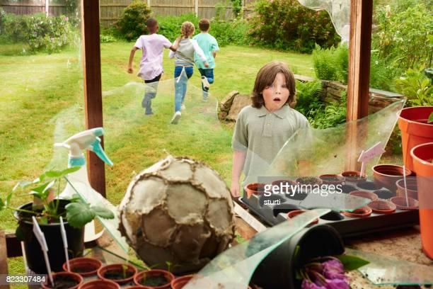 fútbol de invernadero