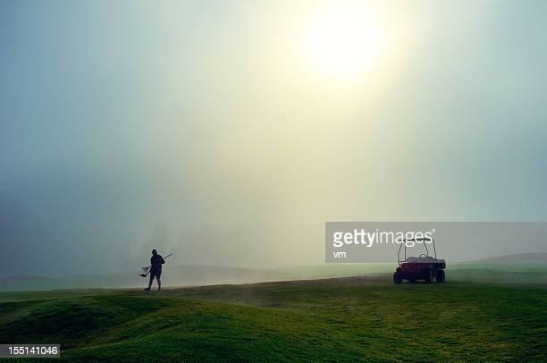 Greenkeeper auf den Golfplatz