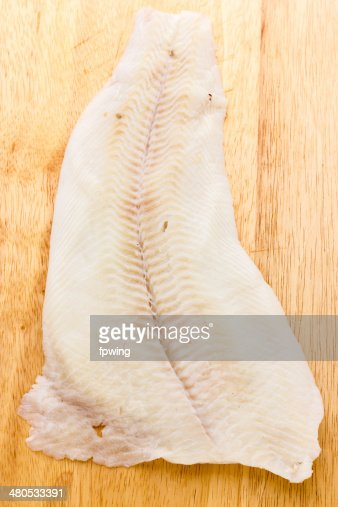 Greenland halibut : Stock Photo