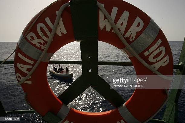 Greenpeace Operation To Save The Last Bluefin Tunas In The Mediterranean Sea On June 20 2007 The Greenpeace militants on their way to assault the...