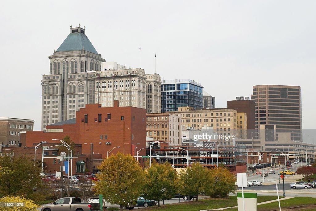 'Greensboro, NC skyline'