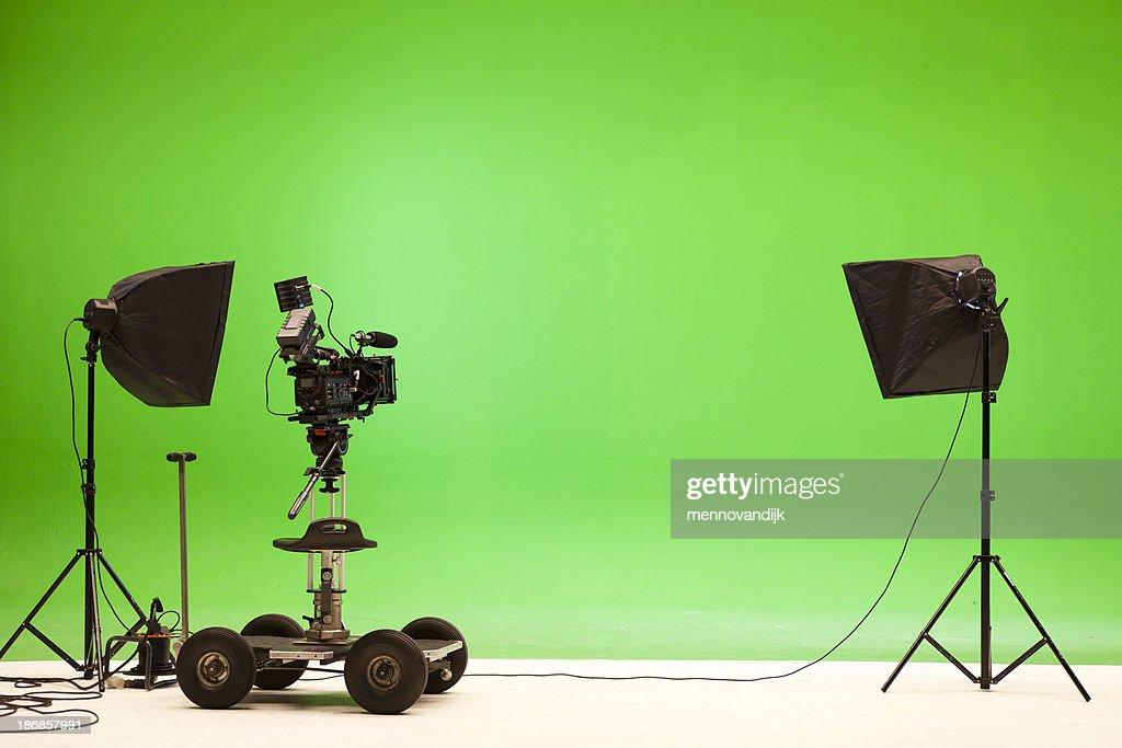 Greenscreen studio setup