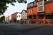 A view of Greenwich Avenue - Greenwich, CT