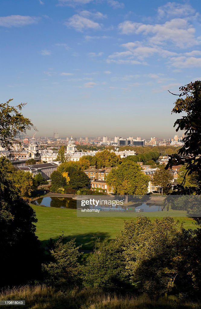 Greenwich Park and London's East End