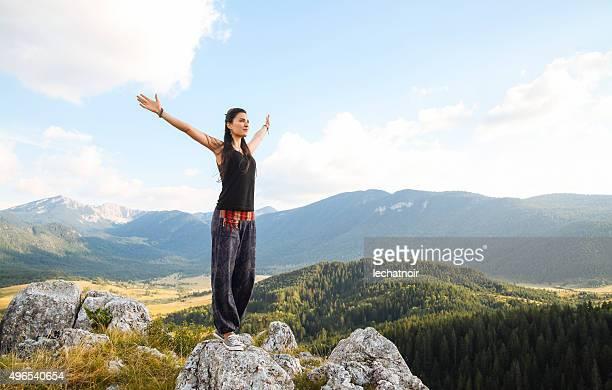 Saludo la naturaleza