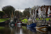 Greetsiel is a small port on the bight of Leybucht in western East Frisia, Germany that was first documented in letters from the year 1388.