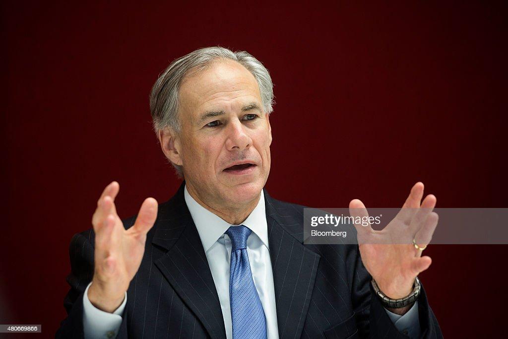 Texas Governor Greg Abbott Interview