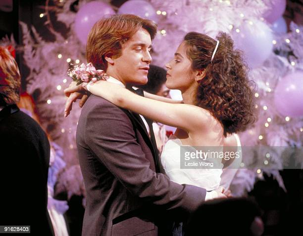 Greg and Jenny at the Pine Valley High School prom on ABC Daytime's 'All My Children' AMC82 LAURENCE