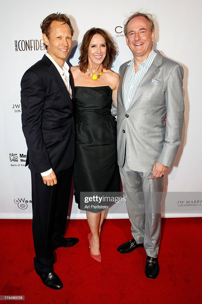 Greg Bailey, Alison Miller and Steve Maguire attend Los Angeles Confidential Magazine Celebrates With Cover Star Sean Combs Summer Issue Party Honors LA's Business Titans JW Marriott Los Angeles at L.A. LIVE on July 25, 2013 in Los Angeles, California.