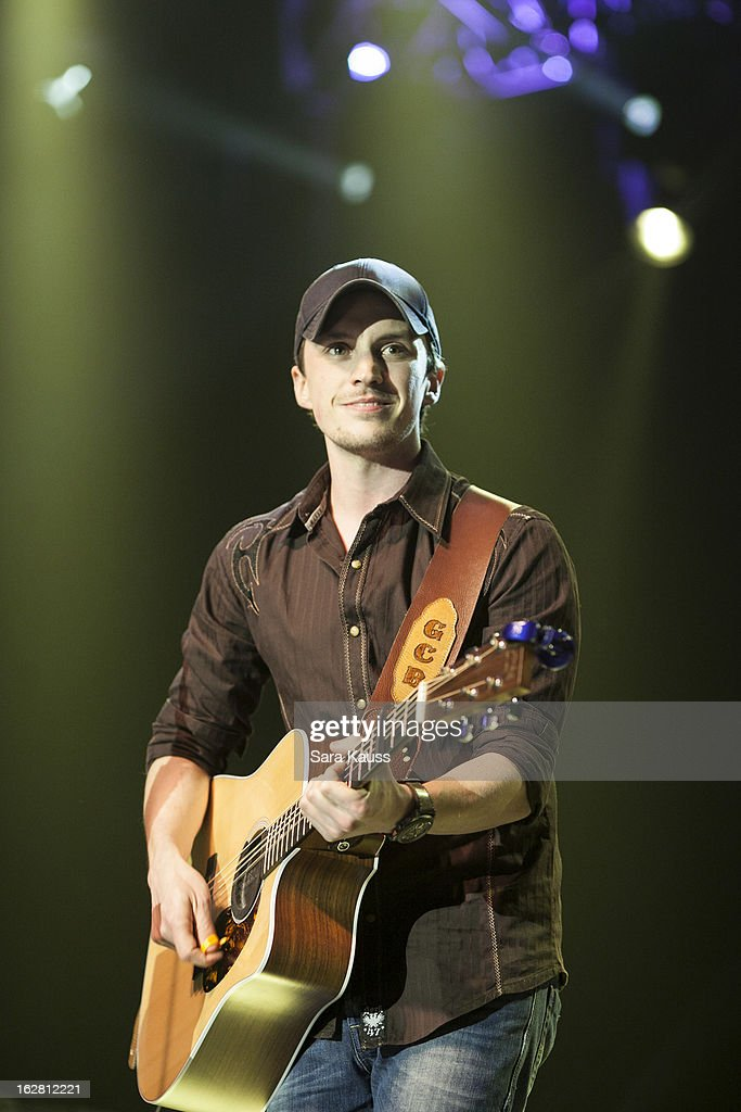 Greg Bates performs onstage during CRS 2013 on February 27, 2013 at the Grand Ole Opry in Nashville, Tennessee.