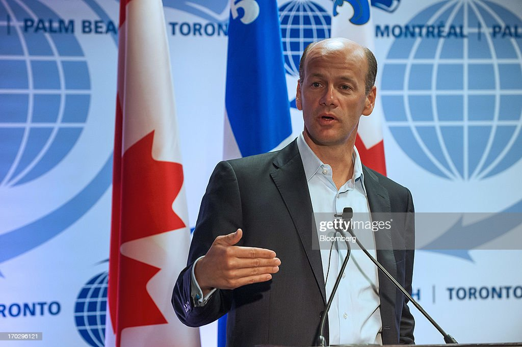Greg Becker, president and chief executive officer of Silicon Valley Bank, speaks during the International Economic Forum Of The Americas' Conference Of Montreal in Montreal, Quebec, Canada, on Monday, June 10, 2013. The Conference of Montreal brings together Heads of State, the private sector, international organizations and civil society to discuss major issues concerning economic globalization, focusing on the relations between the Americas and other continents. Photographer: David Vilder/Bloomberg via Getty Images