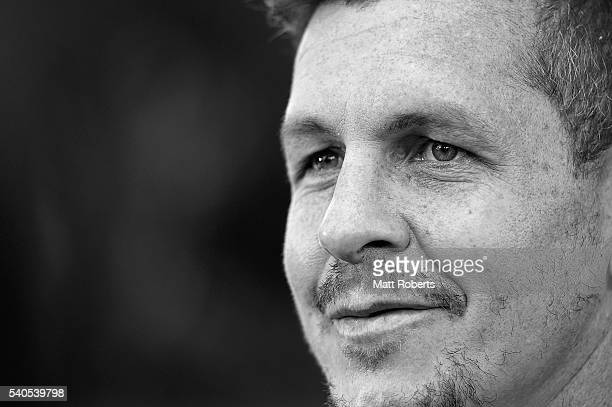 Greg Bird speaks to media during a New South Wales Blues State of Origin media opportunity on June 16 2016 in Coffs Harbour Australia