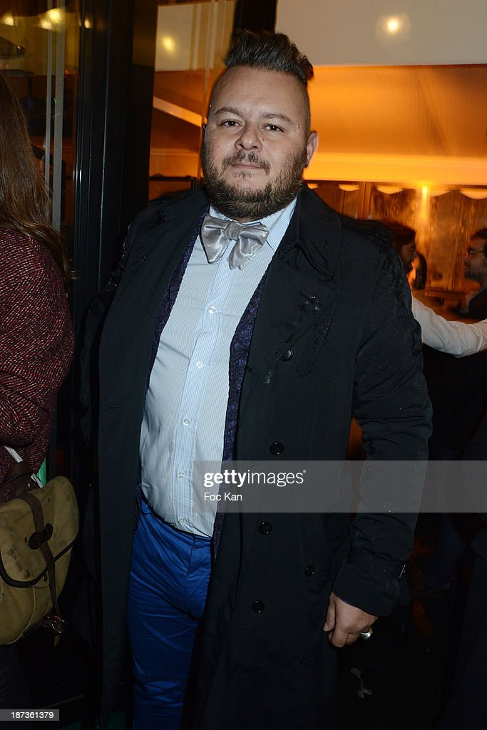 DJ Greg Boust attends the Prix de Flore 2013' : Ceremony Cocktail At Cafe De Flore on November 7, 2013 in Paris, France.