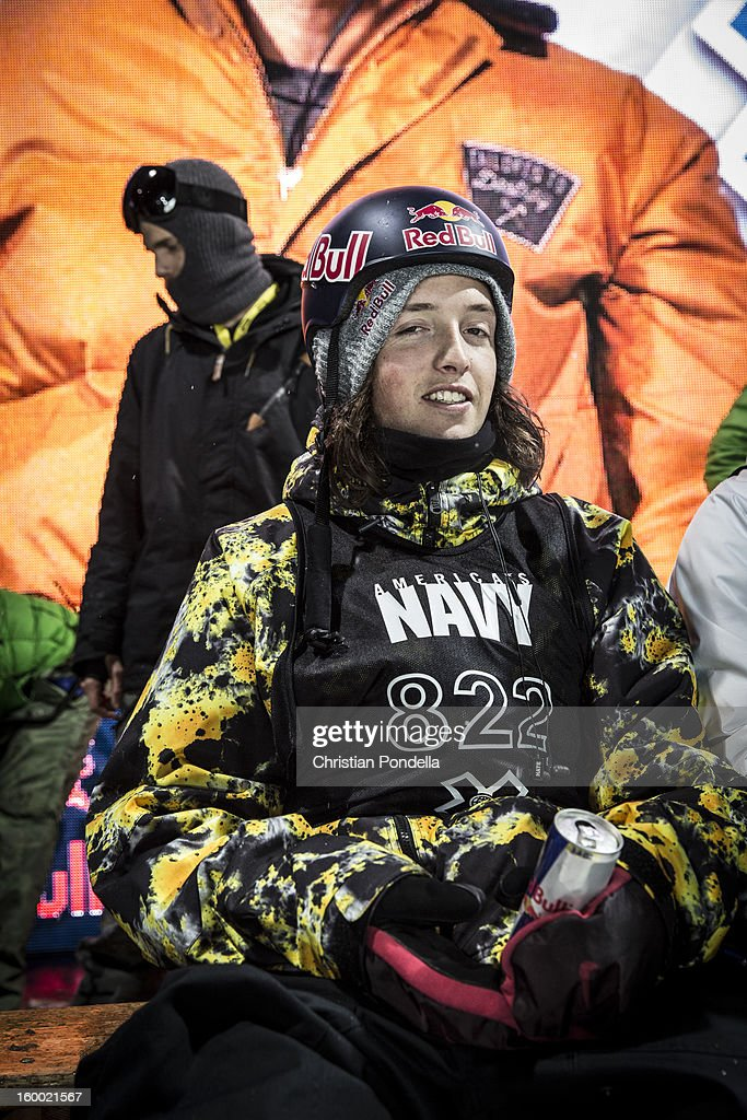 Greg Bretz of the USA smiles before Men's Snowboarding Qualifier at the X Games Aspen 2013 at Buttermilk January 24, 2013 in Aspen, Colorado.