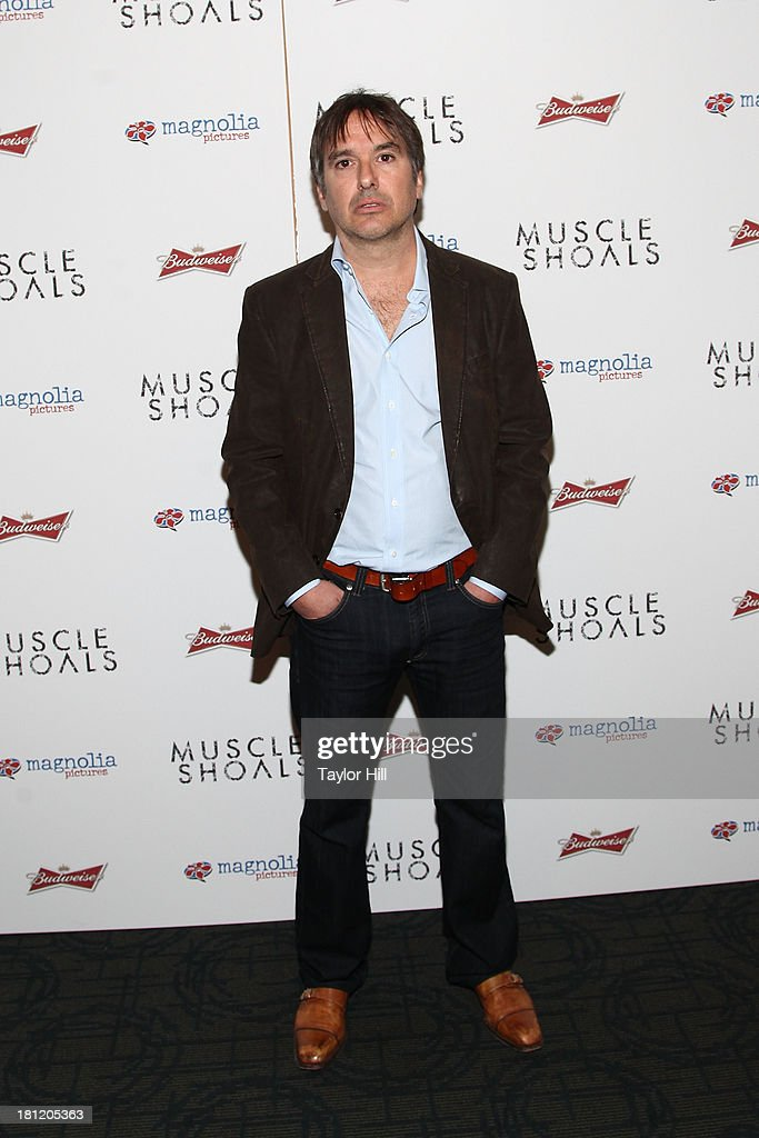 Greg Camalier attends the 'Muscle Shoals' New York screening at Landmark Sunshine Cinemas on September 19, 2013 in New York City.