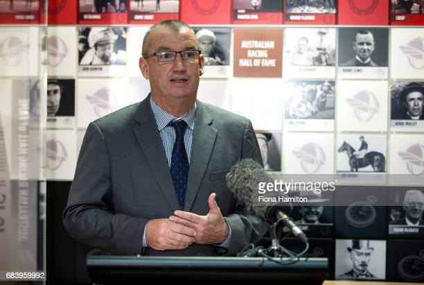 Greg Carpenter at National Sports Museum on May 17 2017 in Melbourne Australia