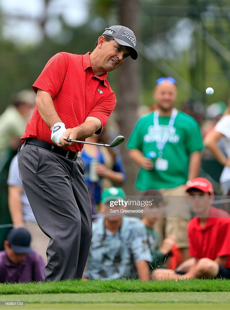Greg Chalmers of Australia plays a shot on the 10th hole during the final round of the Tampa Bay Championship at the Innisbrook Resort and Golf Club on March 17, 2013 in Palm Harbor, Florida.