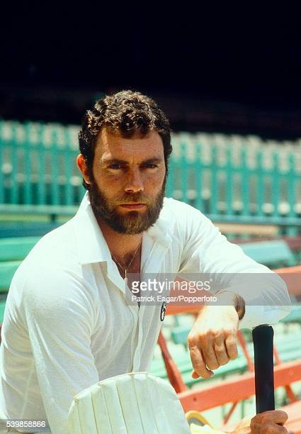 Greg Chappell of Australia during the England tour of Australia 4th January 1980