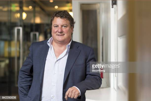 Greg Clark chief executive officer of Symantec Corp stands for a photograph after an interview in San Francisco California US on Wednesday Aug 30...