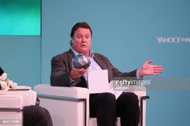 Greg Clark speaks on stage at the Yahoo Finance All Markets Summit on February 8 2017 in New York City