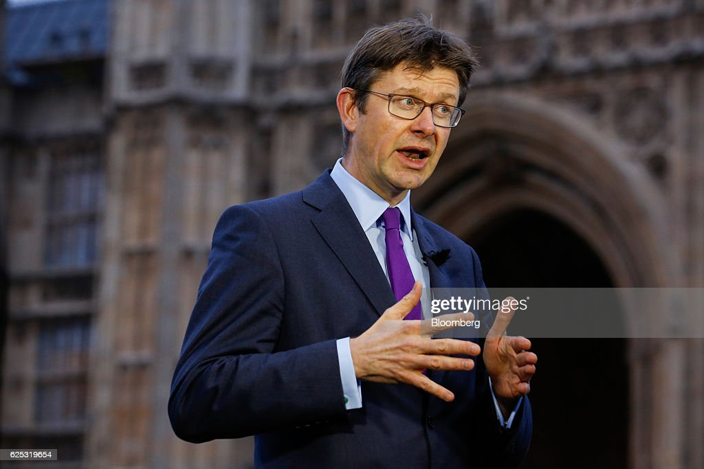 U.K. Business Secretary Greg Clark Interview