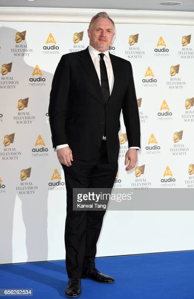 Greg Davies attends the Royal Television Society Programme Awards at the Grosvenor House on March 21 2017 in London United Kingdom