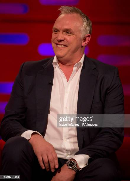 Greg Davies during filming of the Graham Norton Show at the London Studios to be aired on BBC One on Friday evening