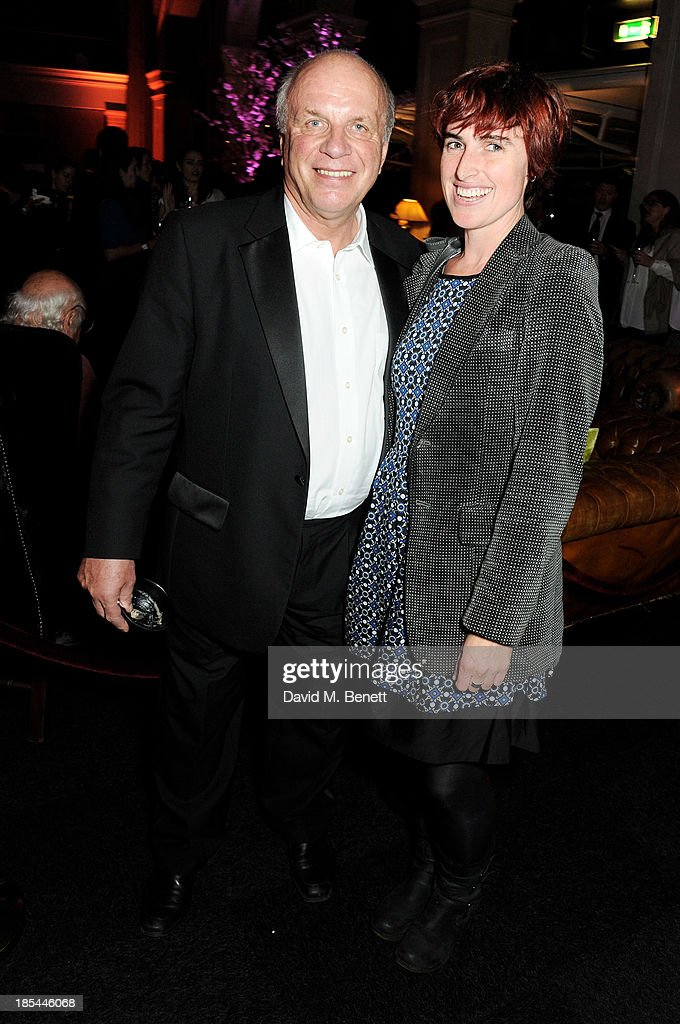 <a gi-track='captionPersonalityLinkClicked' href=/galleries/search?phrase=Greg+Dyke&family=editorial&specificpeople=207080 ng-click='$event.stopPropagation()'>Greg Dyke</a> (L) and Christy Dyke attend an after party for the Closing Night Gala European Premiere of 'Saving Mr Banks' during the 57th BFI London Film Festival at The Old Billingsgate on October 20, 2013 in London, England.