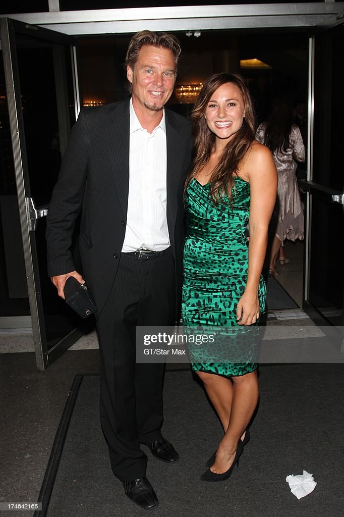 Greg Evigan and <a gi-track='captionPersonalityLinkClicked' href=/galleries/search?phrase=Briana+Evigan&family=editorial&specificpeople=2484919 ng-click='$event.stopPropagation()'>Briana Evigan</a> as seen on July 27, 2013 in Los Angeles, California.