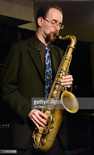 Greg Fishman during Fujitsu Jazz Elite 2004 Three For Brazil Perform Live June 14 2004 at Bar Queen in Iwaki Japan