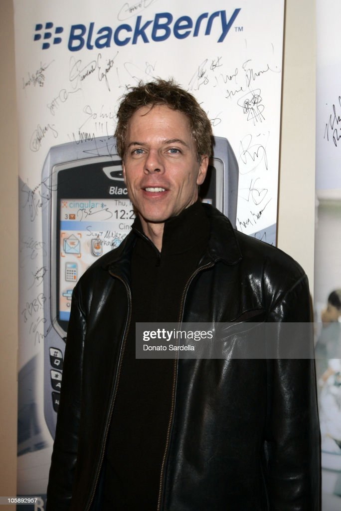 Greg Germann at the BlackBerry 8700c Self Magazine Lounge