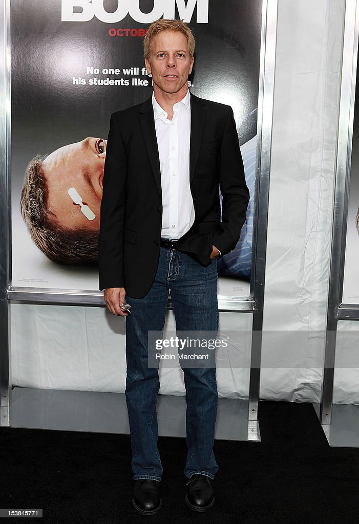 Greg Germann attends the 'Here Comes The Boom' premiere at AMC Loews Lincoln Square on October 9, 2012 in New York City.