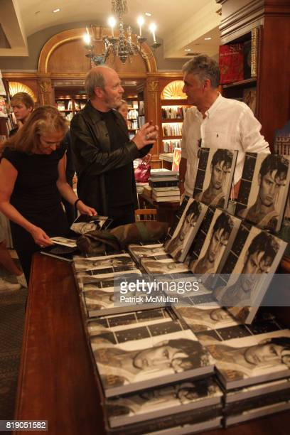 Greg Gorman and Albert attend GREG GORMAN Book Signing for 'IN THEIR YOUTH' at Rizzoli Bookstore on May 26 2010 in New York City