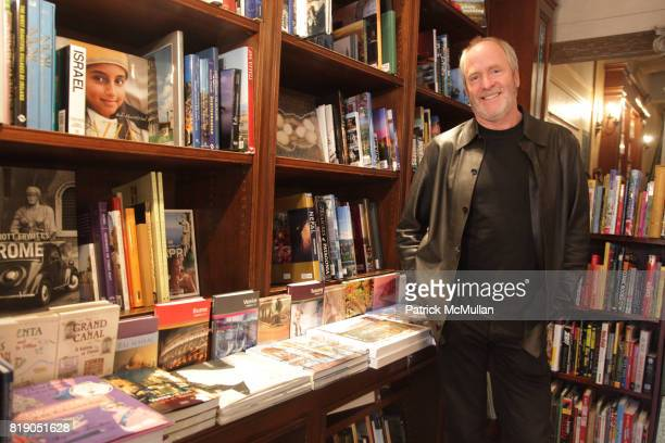 Greg Gorman attends GREG GORMAN Book Signing for 'IN THEIR YOUTH' at Rizzoli Bookstore on May 26 2010 in New York City