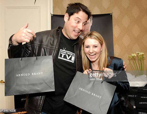 Greg Grunberg and Beverley Mitchell during HBO Luxury Lounge Day 1 at Four Seasons Hotel in Beverly Hills California United States