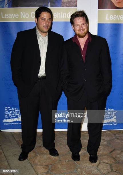 Greg Grunberg and Donal Logue during Children's Defense Fund 14th Annual Beat the Odds Fundraiser Arrivals at Beverly Hills Hotel in Beverly Hills...