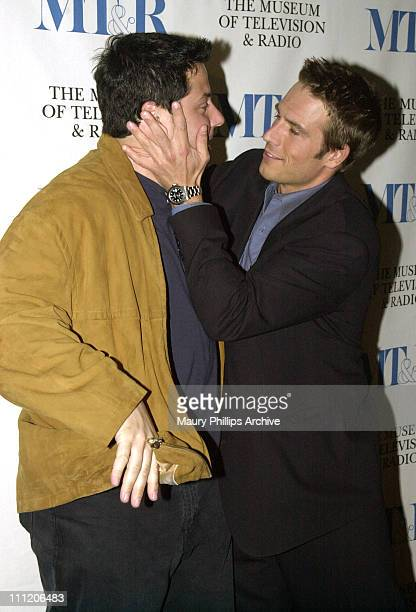 Greg Grunberg and Michael Vartan of ABC's 'Alias' during The 19th Annual William S Paley Television Festival 'Alias' at Museum of Television and...