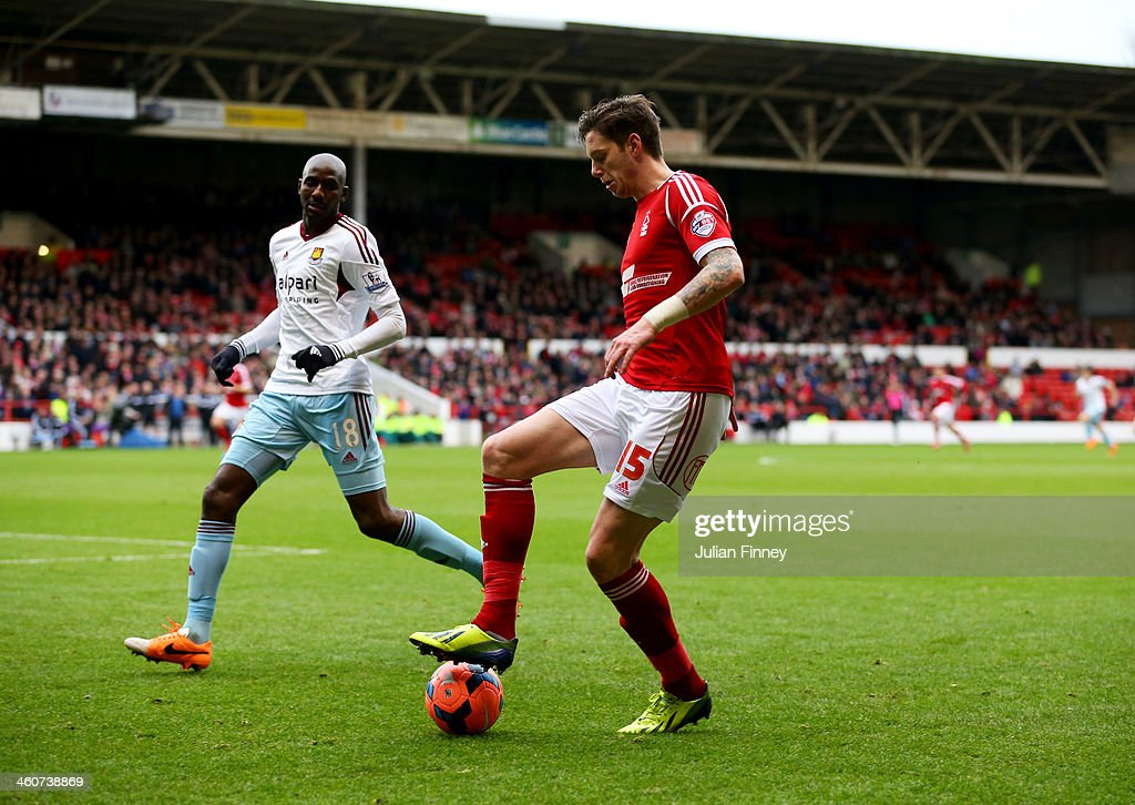 Nottingham Forest v West Ham United - FA Cup Third Round