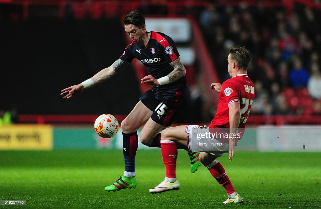 Rotherham United Kingdom  city photos : ... Rotherham United at Ashton Gate on April 5, 2016 in Bristol, United