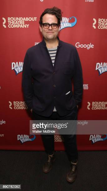 Greg Hildreth attend the cast party for the Roundabout Theatre Company presents a OneNight Benefit Concert Reading of 'Damn Yankees' at the Stephen...