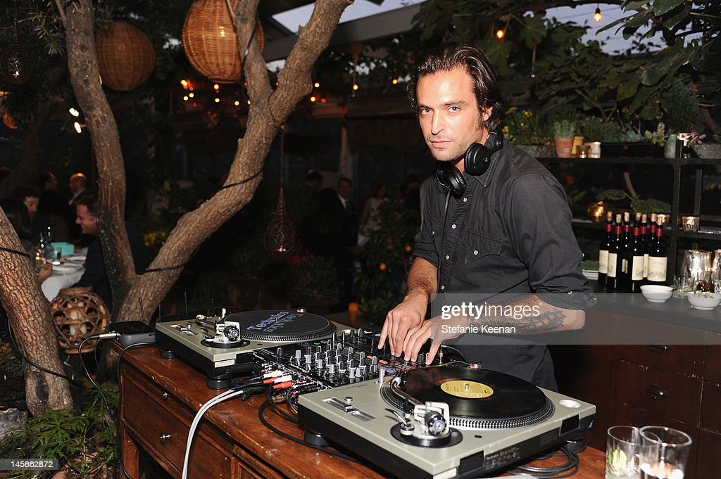 DJ Greg Ipp attends the Sundance Institute Benefit presented by Tiffany & Co. in Los Angeles held at Soho House on June 6, 2012 in West Hollywood, California.