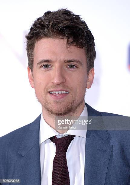 Greg James attends the 21st National Television Awards at The O2 Arena on January 20 2016 in London England