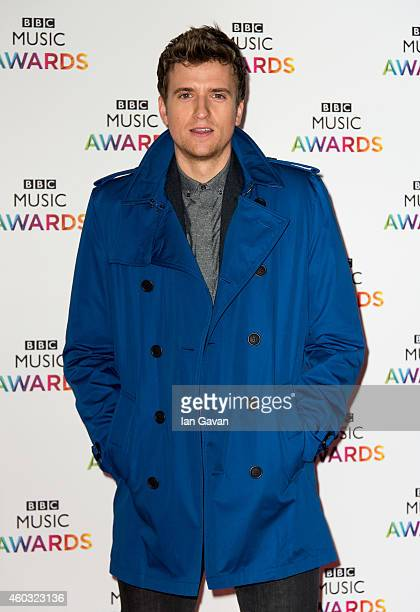 LONDON ENGLAND DECEMBER 11 Greg James attends the BBC Music Awards at Earl's Court Exhibition Centre on December 11 2014 in London England