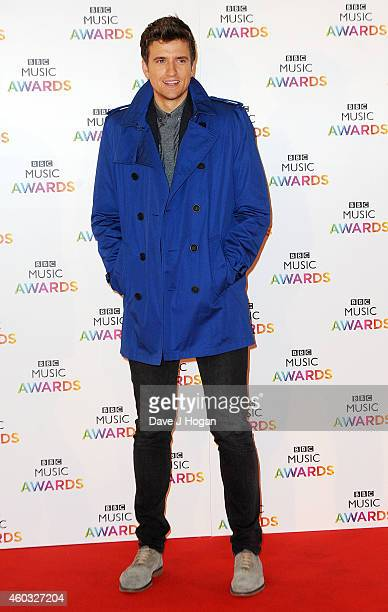 Greg James attends the BBC Music Awards at Earl's Court Exhibition Centre on December 11 2014 in London England