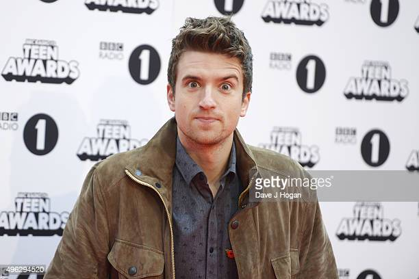 Greg James attends the BBC Radio 1 Teen Awards at Wembley Arena on November 8 2015 in London England